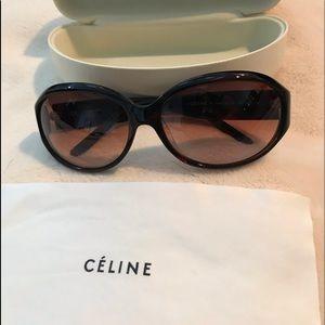 Celine Two Tone Sunglasses Model #SC1759G
